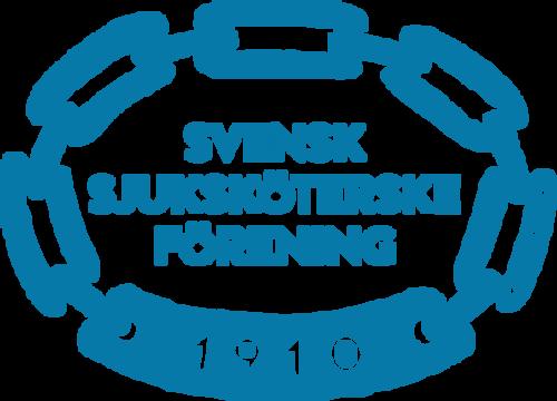 Svensk sjuksköterskeförening logo