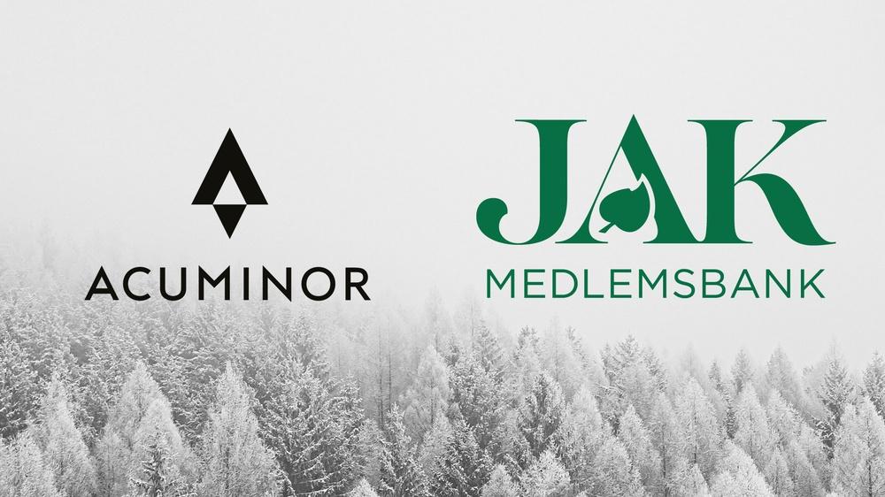 JAK Medlemsbank inleder partnerskap med Acuminor Bildbakgrund: Jan Kopřiva