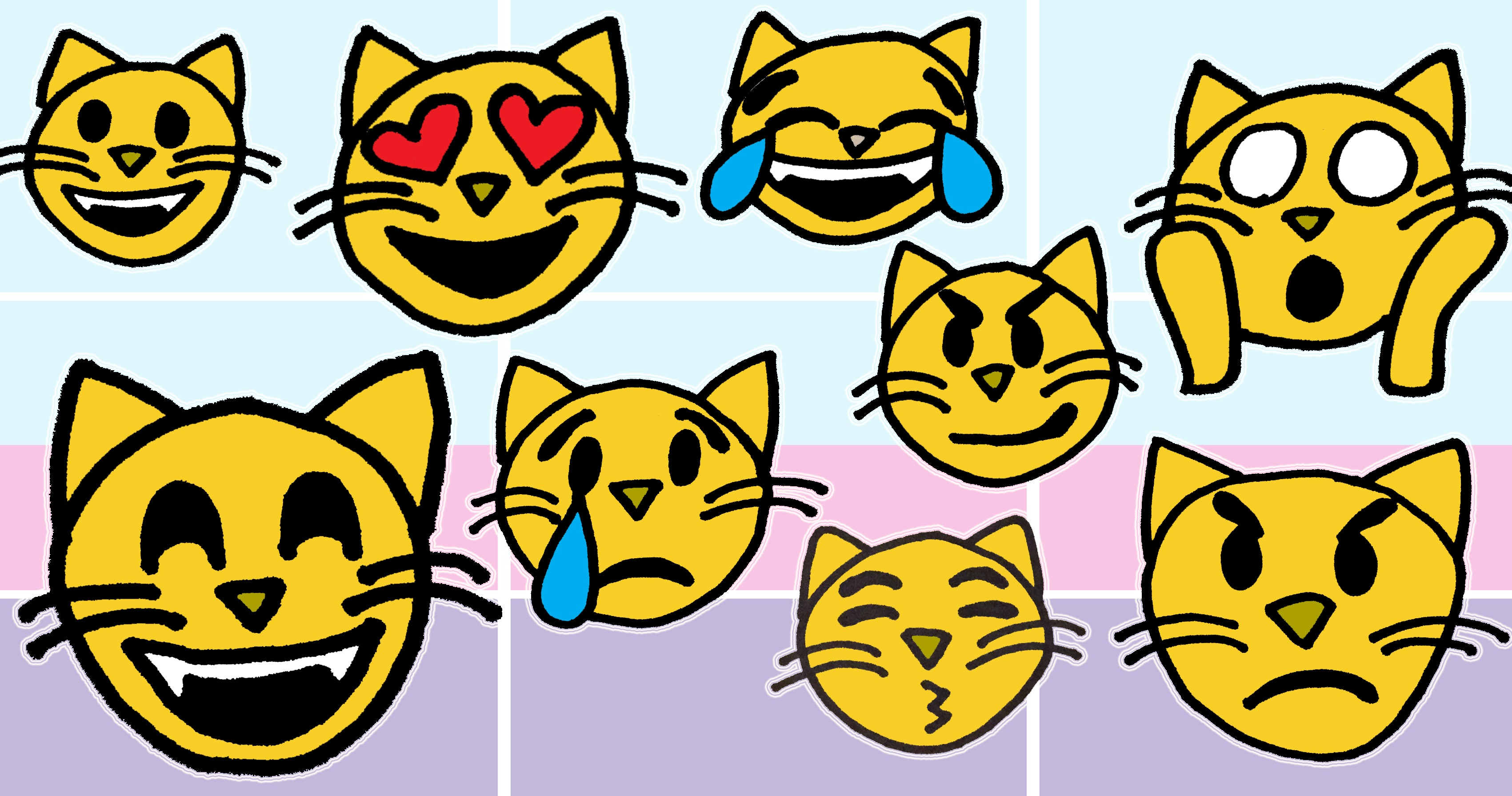 Draw so cute emojis