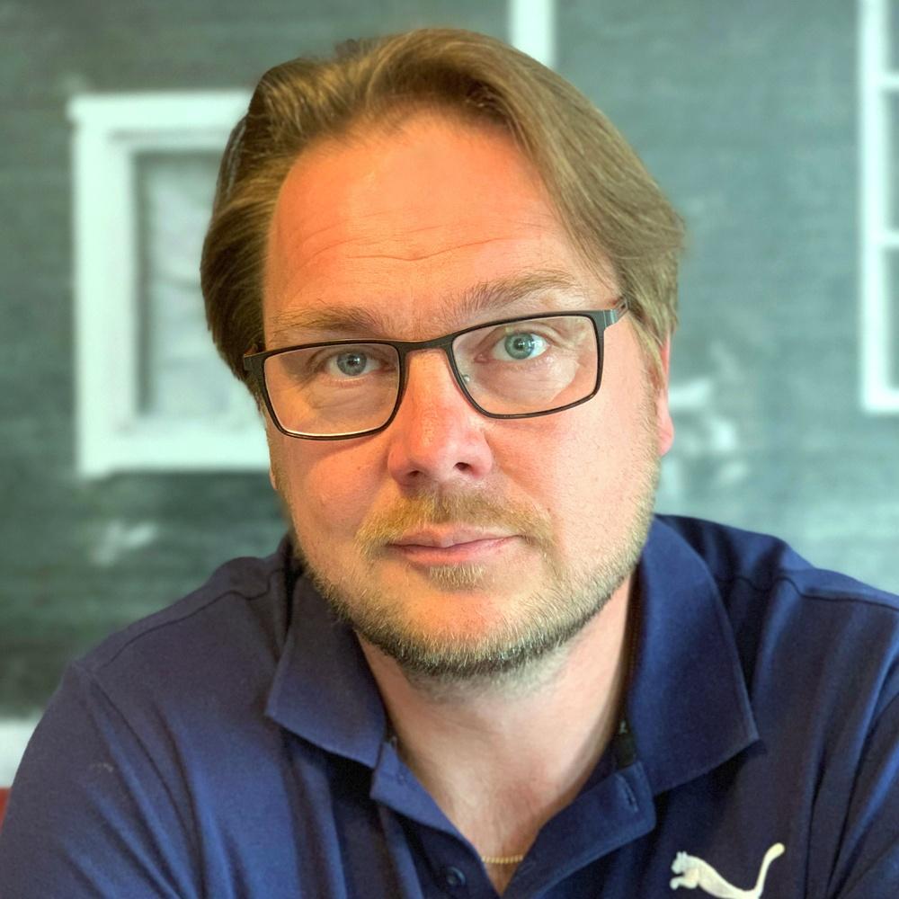 Anders Långström, ny anläggningschef på Ansia Resort.