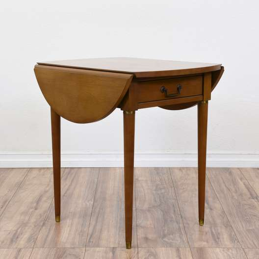 Dark Wood Vintage Telephone Table By Quot Mersman Quot Loveseat