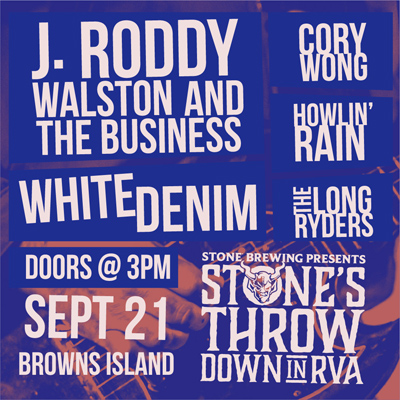 Stone's Throwdown In RVA - September 21, 2019, doors 3pm