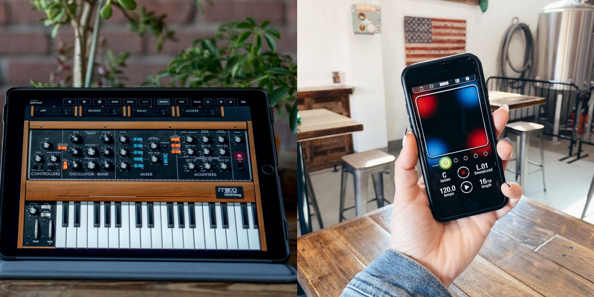 Moog and Korg offer free synthesizer apps for musicians in lockdown