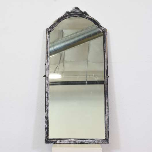 Black & White Shabby Chic Mirror