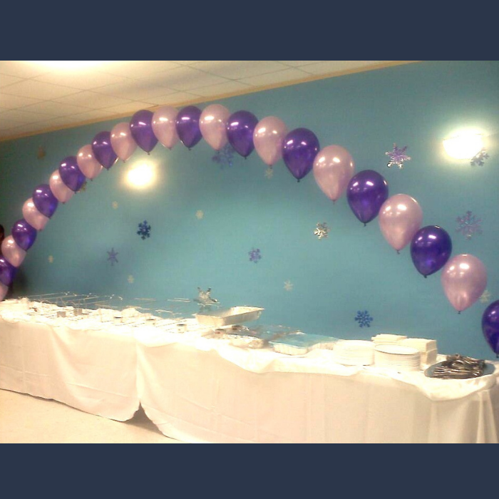 String of Peal Balloon Arch