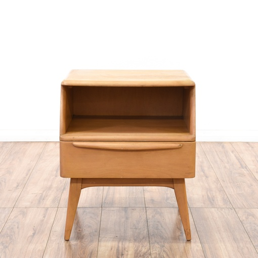 Heywood wakefield mid century modern nightstand for G furniture los angeles