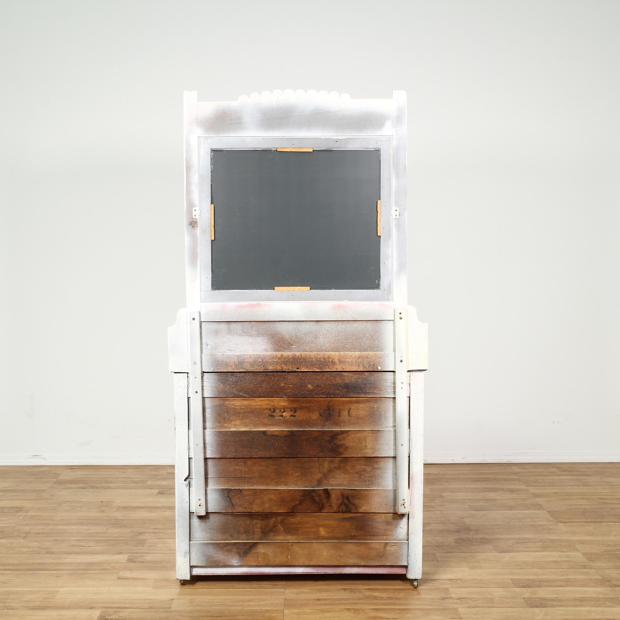 White eastlake 3 drawer dresser w mirror loveseat for Storage eastlake