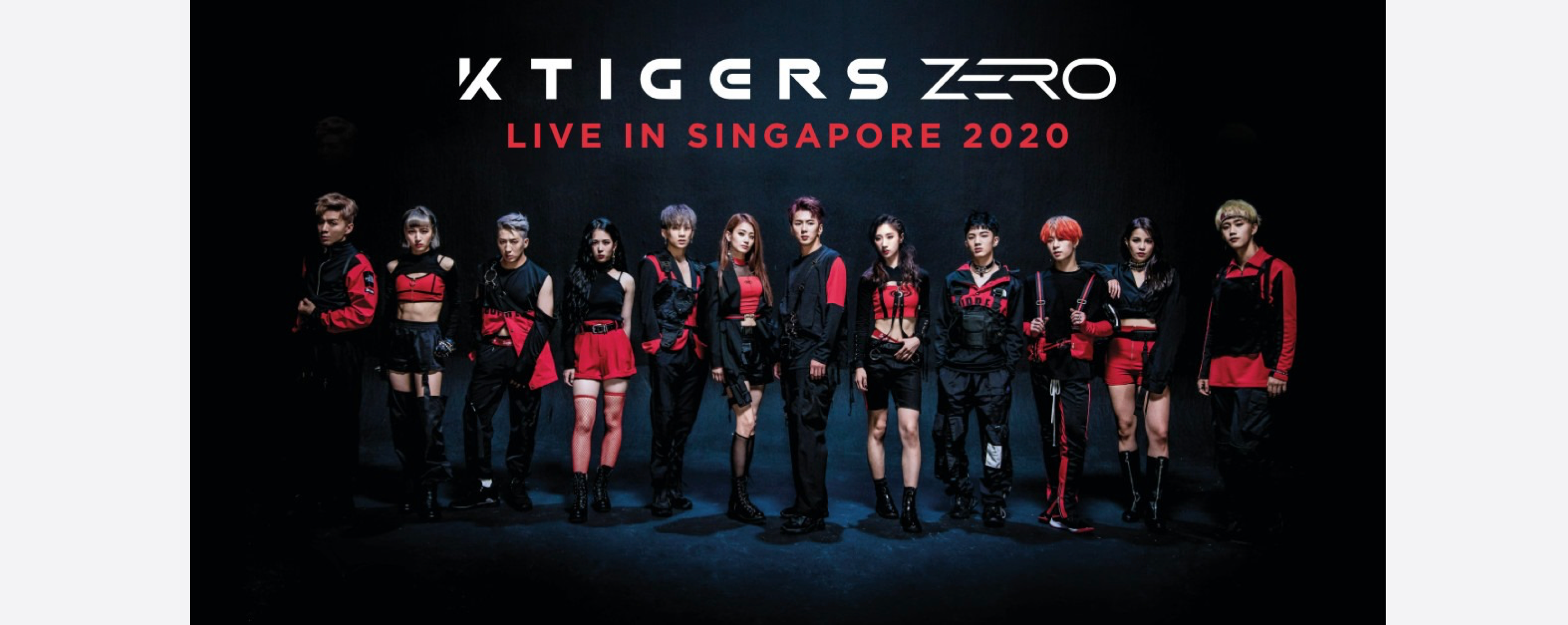 [POSTPONED] K-Tigers Zero - Live in Singapore 2020