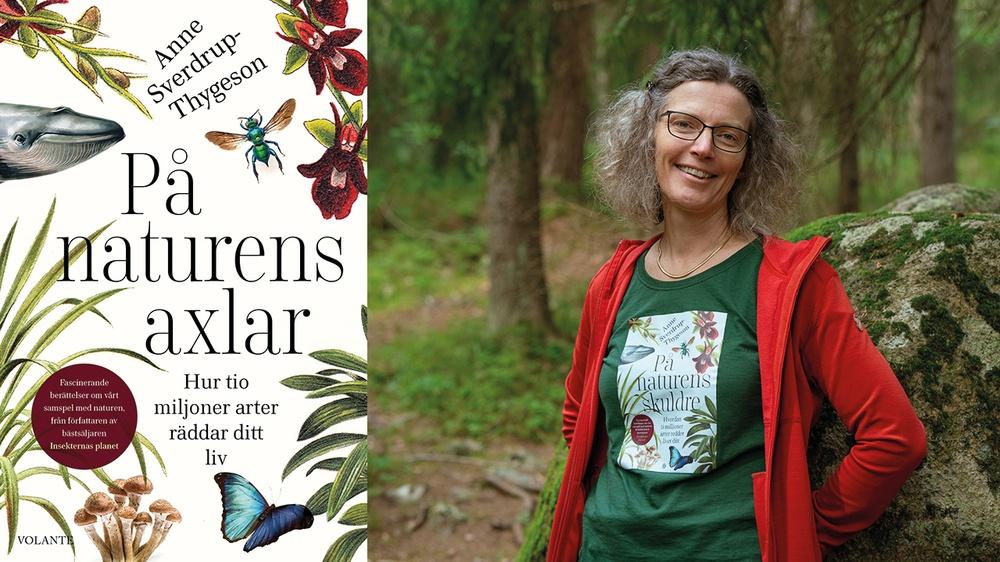 Anne Sverdrup-Thygeson, tillbaka med boken På naturens axlar