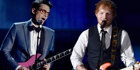 John Mayer brings Ed Sheeran out as special guest during Tokyo concert – watch