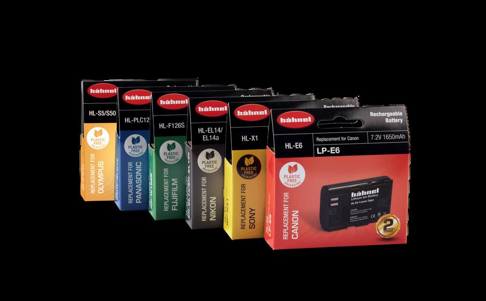 Nowe opakowania akumulatorów Hahnel