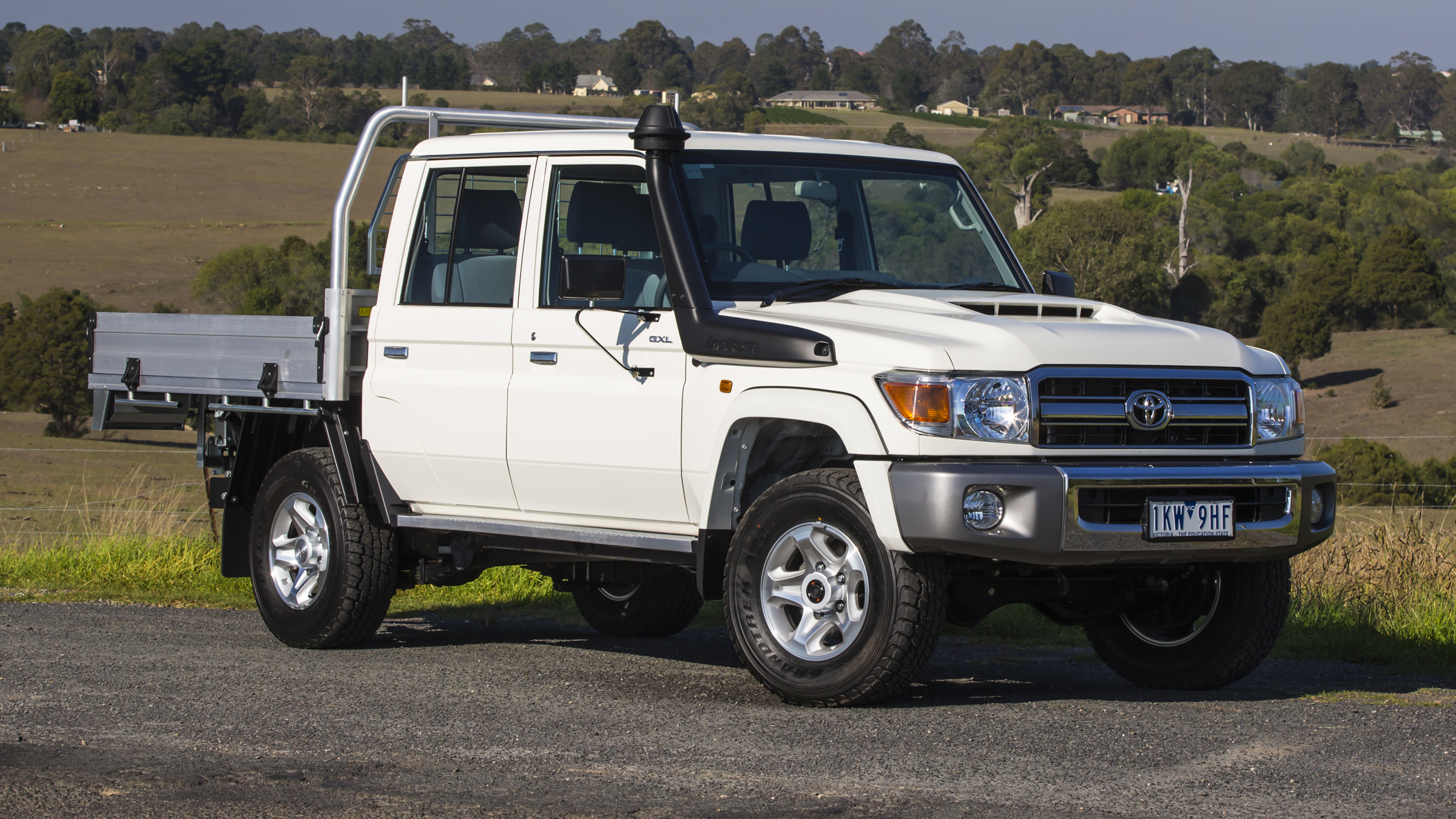 Best Recreational Ute: Toyota LandCruiser 70-Series Review | Drive