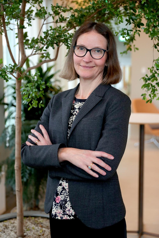 Ann Henriksson, vice ordförande i Sveriges Tidskrifter.