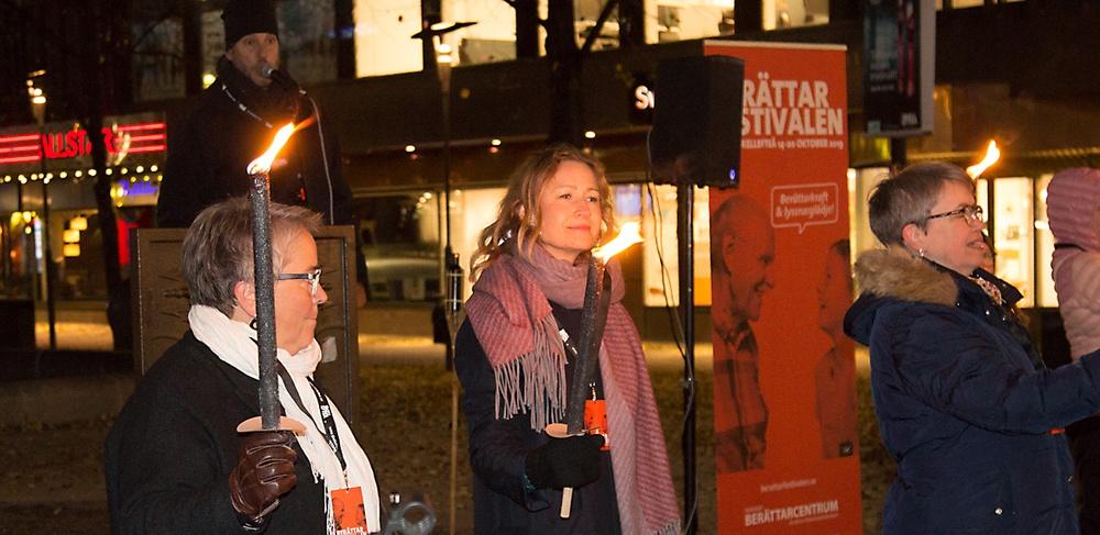 Berättarfestivalen i Skellefteå invigs måndag 14 oktober.