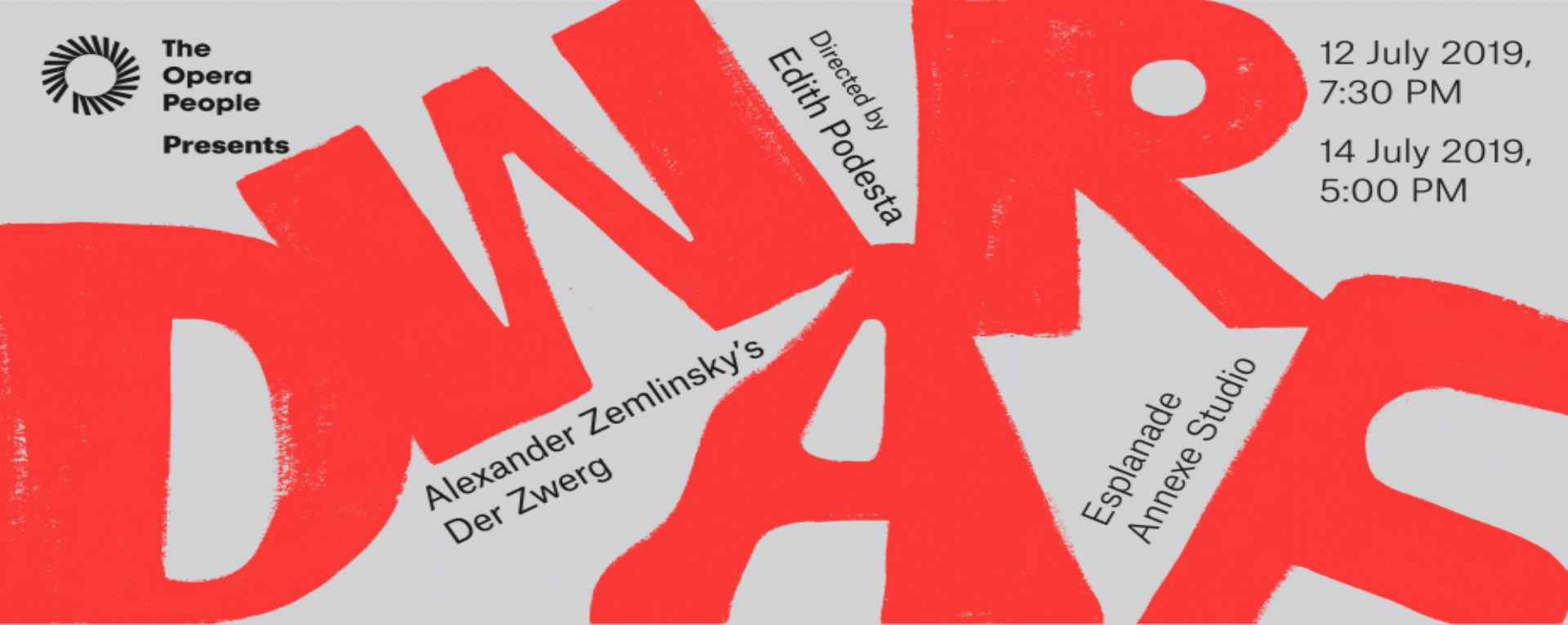 The Opera People Presents: Dwarf - Alexander Zemlinsky's Der Zwerg