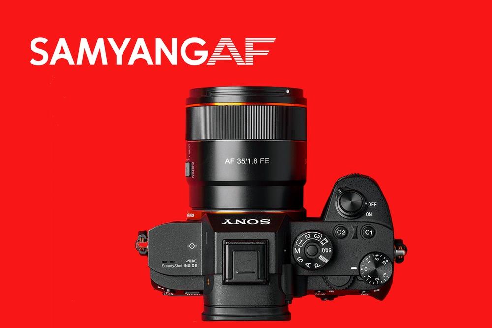 Kompakt autofokus från Samyang