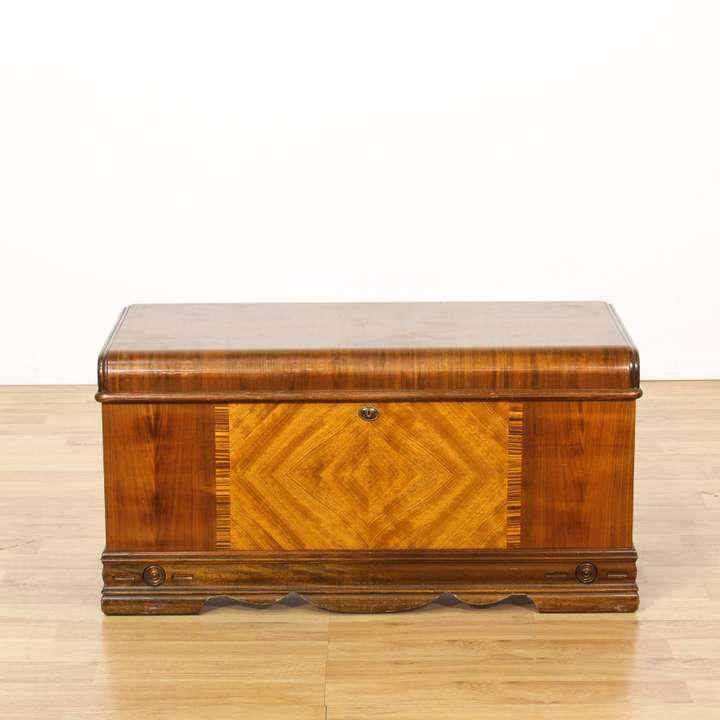 Quot White Clad Quot Double Cabinet Ice Box Loveseat Vintage