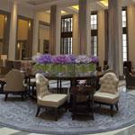 Corinthia London lobby