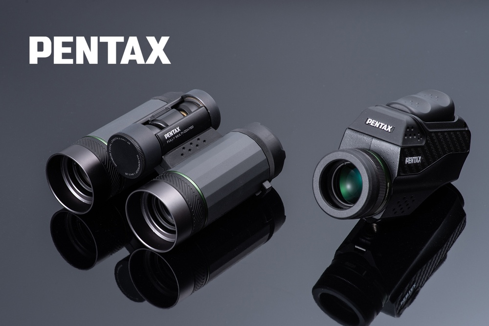 Pentax pristatė naujus ir įdomius žiūronus