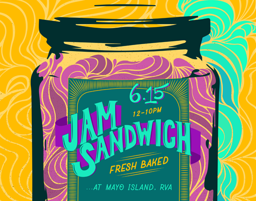 Jam Sandwich - June 15, 2019 - gates 11:30am