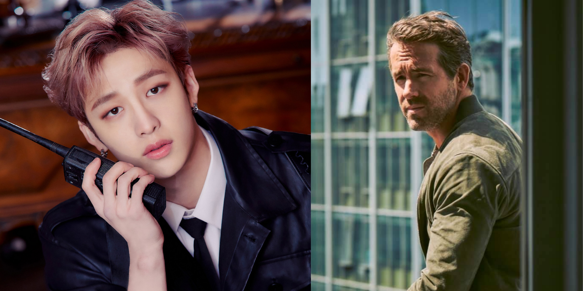 """Ryan Reynolds talks to Bang Chan about 'Free Guy' and Stray Kids' upcoming 'NOEASY' album: """"I think you're all amazing, I'm such a huge fan"""""""