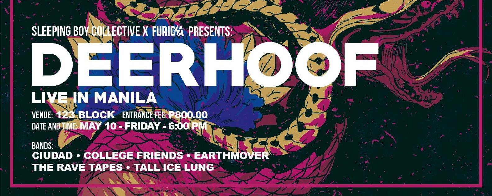 Sleeping Boy Collective X Furiosa: Deerhoof Live in Manila