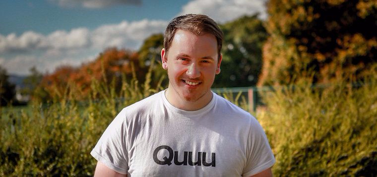 """How Quuu's Founders Used Thinking """"Small"""" to Build a Hugely Successful Product"""