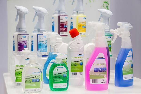 Winterhalter's cleaning range