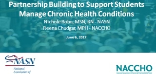 Partnership Building to Support Students Manage Chronic Health Conditions