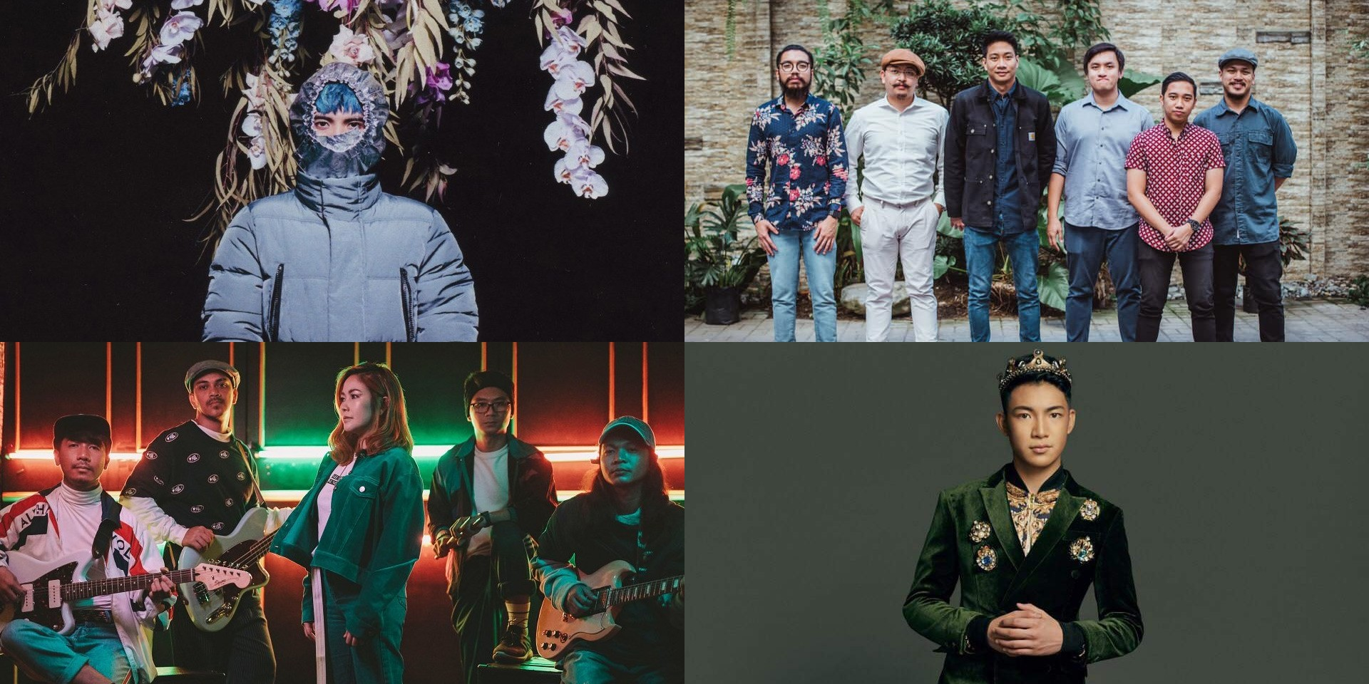 No Rome, Lions & Acrobats, Yeng Constantino, Darren Espanto, and more release new music