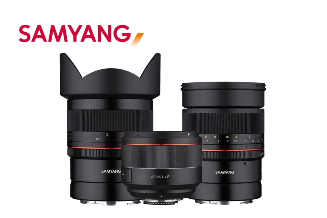 Samyang pristato naujus pilno kadro objektyvus skirtus Nikon