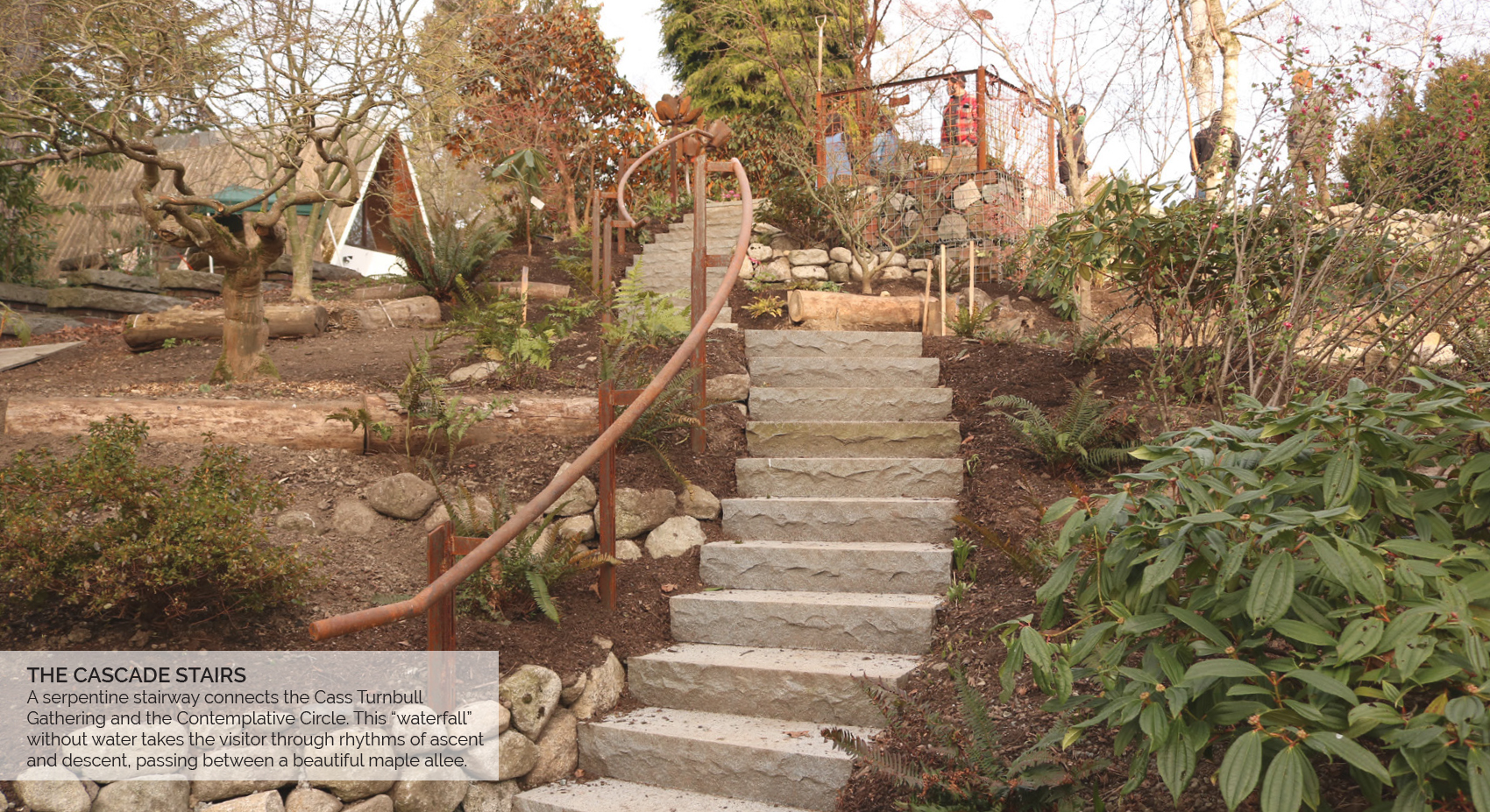 The Cascade Stairs