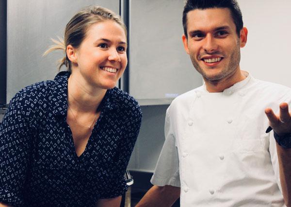 Emily Roux and Diego Ferrari