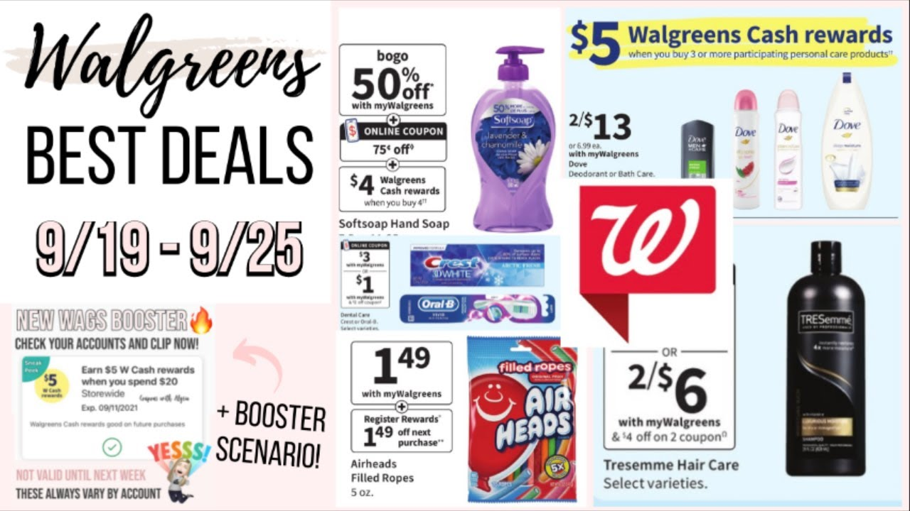 @couponswithalysia Best Walgreens Deals (9/19-9/25) Link Thumbnail | Linktree