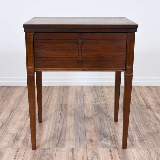 """Sears Kenmore"" Fold Out Sewing Cabinet Table"