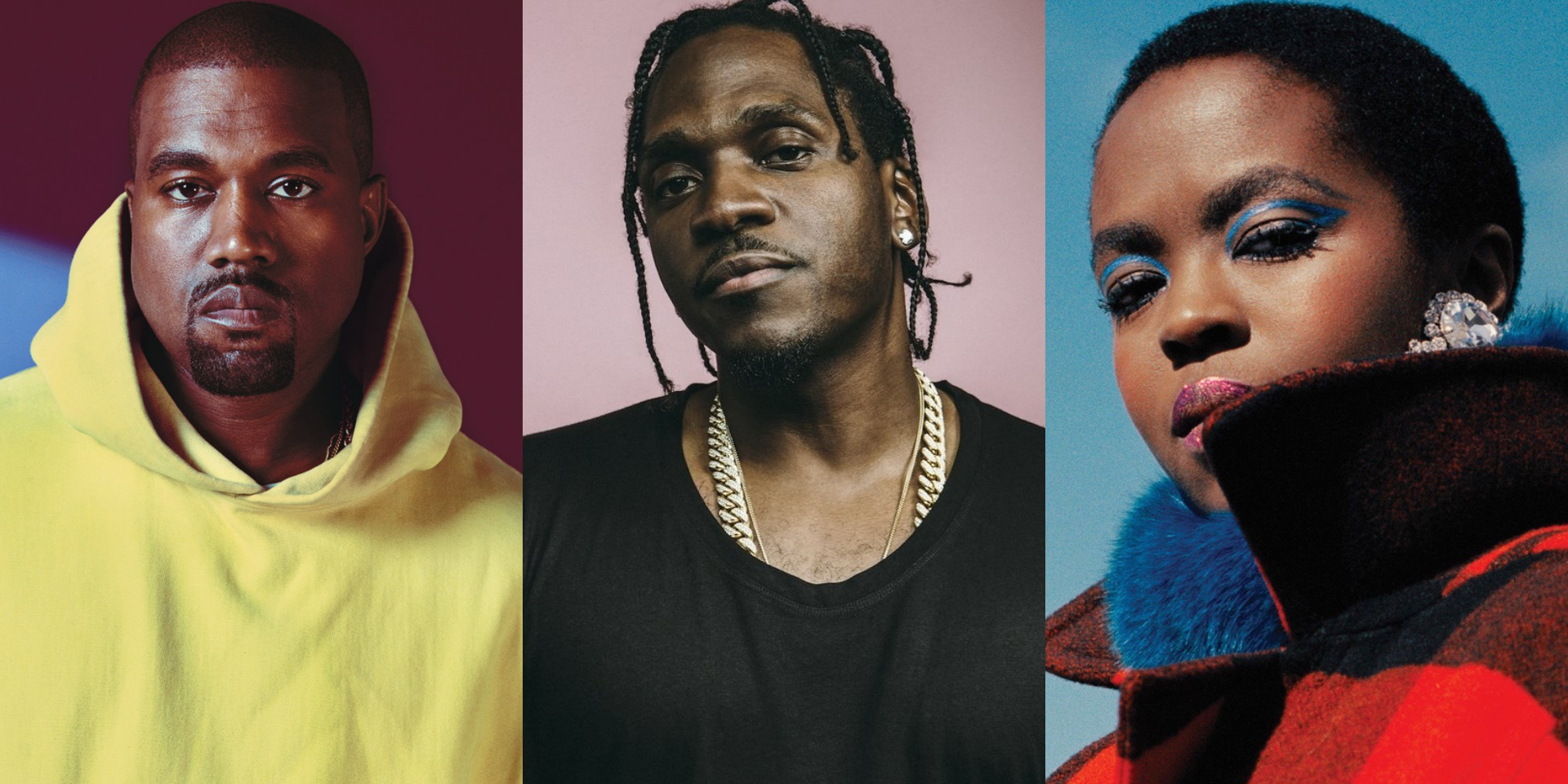 Pusha-T shares new Kanye West-produced song, 'Coming Home', featuring Lauryn Hill – listen