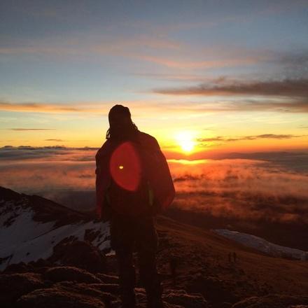 MOUNT KILIMANJARO CLIMBING VIA MACHAME ROUTE 7 DAYS