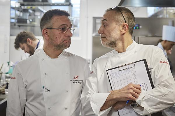 Alain Roux and Michel Roux Jr