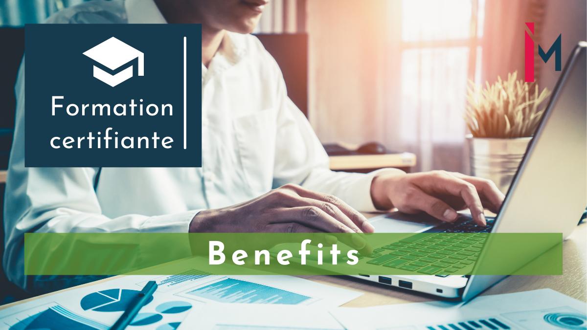 Représentation de la formation : Management des Benefits à l'international formation certifiante