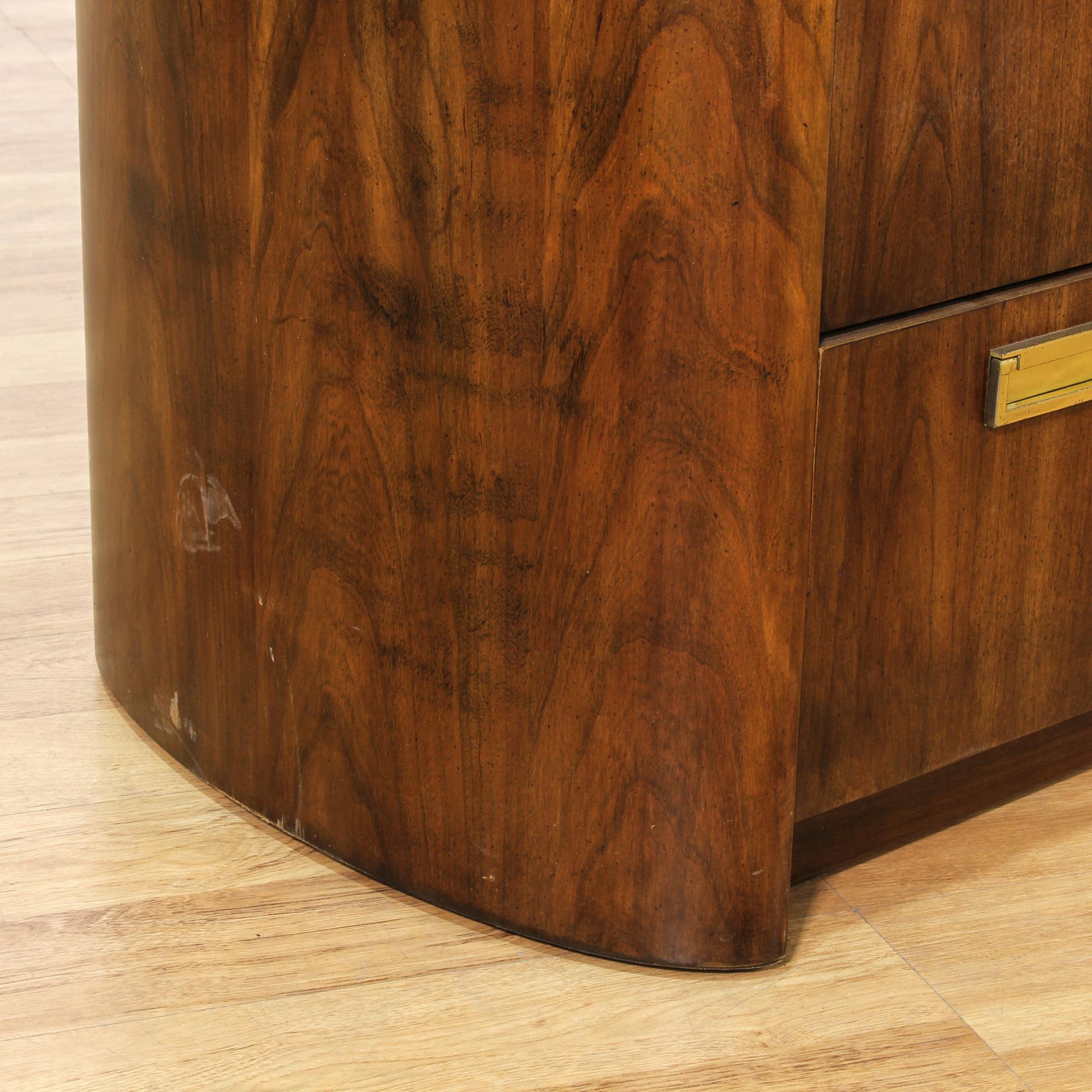 Quot Thomasville Quot Walnut Stained 7 Drawer Dresser Loveseat