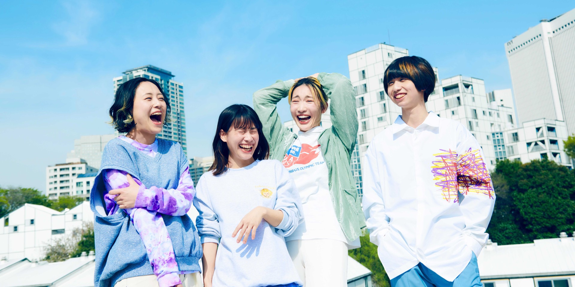 tricot on their new song 'INAI', resistance towards genre, and growing as a band