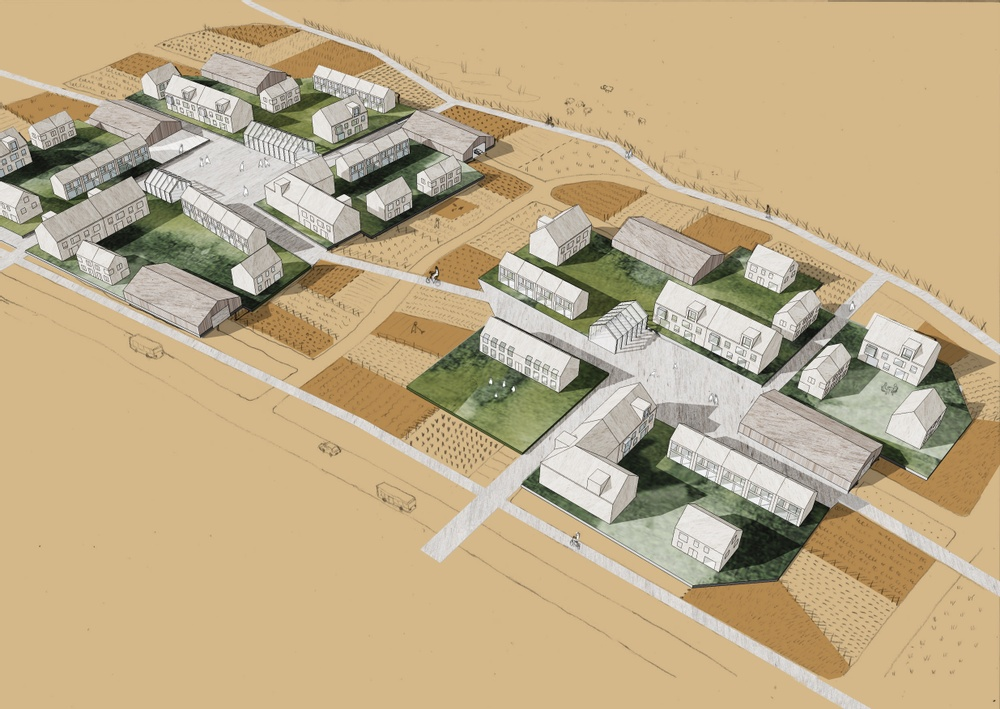 Framtidens by av Kanozi Arkitekter.