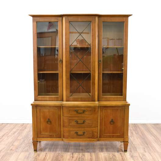 Mid Century China Cabinet Display Case