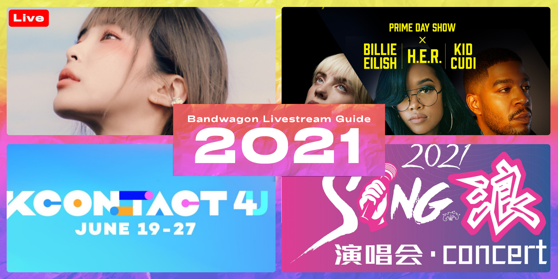 Online concerts and festivals to stream in 2021 - Sing Lang, Prime Day Show, K-Pop SuperFest 2021, KCON:TACT 4 U, and more