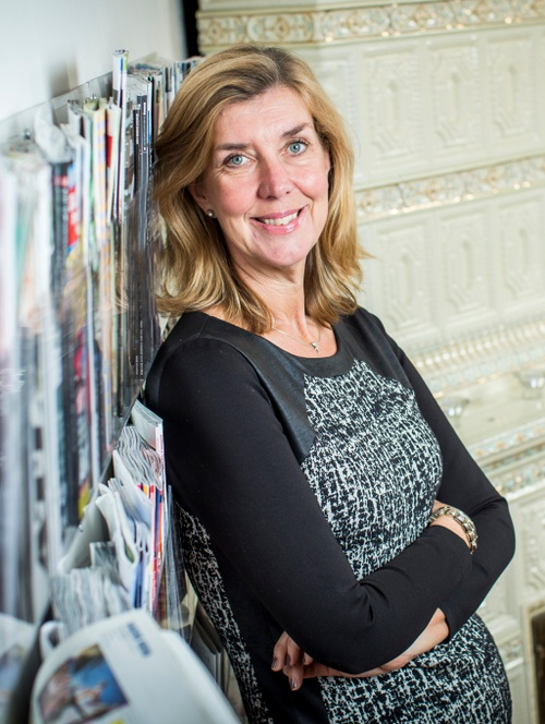 Kerstin Neld, vd Sveriges Tidskrifter