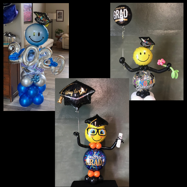 Graduation Balloon Characters