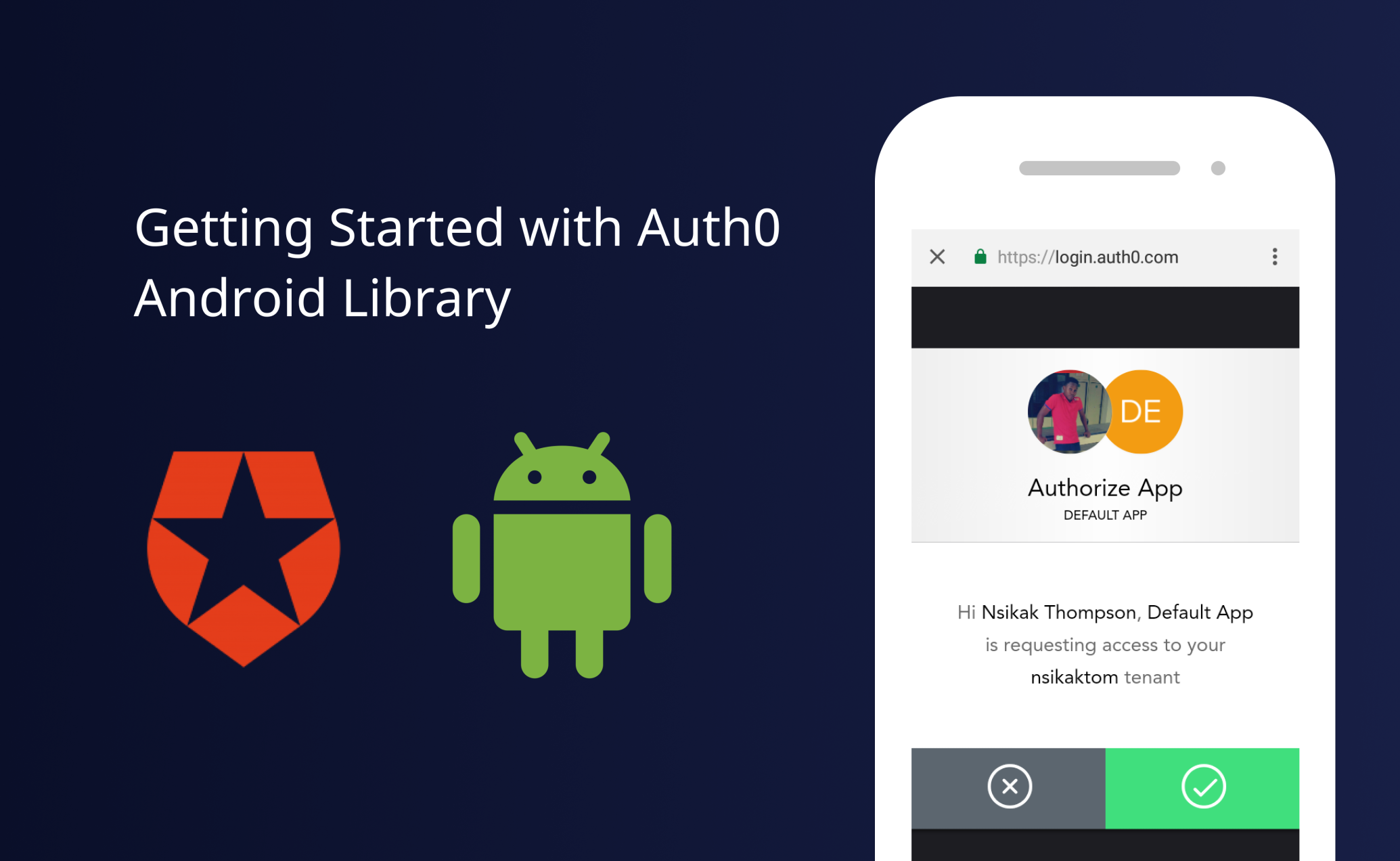 Getting Started with Auth0 AndroidLibrary