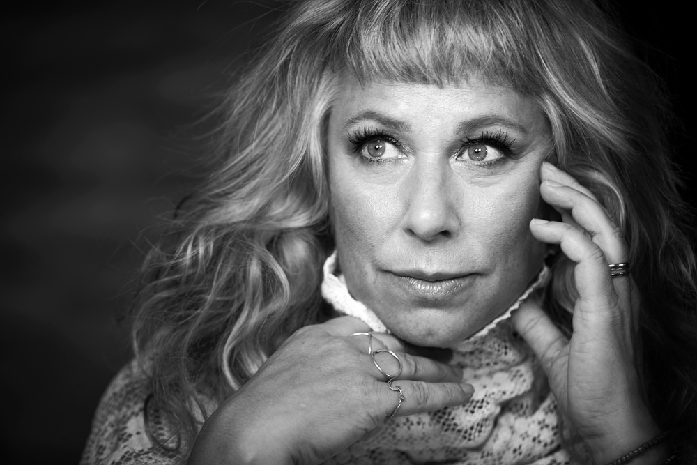 Stina Wollter, medverkande på Berättarfestivalen 2020. Foto: Anna-Lena Ahlström.