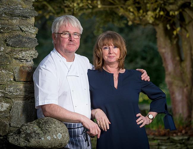 Bryan and Susan Webb at Tyddyn Llan