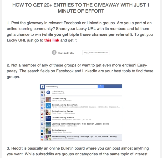 Guide to a Stellar Launch With a Giveaway (565 Emails in 2 Weeks)